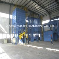 China Resin sand reclaiming and molding line,resin sand production line on sale