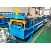 Quality Composite Steel Deck Roll Forming Machine , Galvanized Mild Metal Deck Roll Former wholesale
