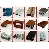 Quality Powder Coated Surface Aluminium Door Profiles With 1.2mm Thickness 6 Meters Length wholesale