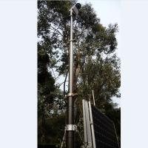 Quality 6m Security Camera Mounting Pneumatic Telescopic Masts-CCTV Telescopic Mast-China PHTmast wholesale