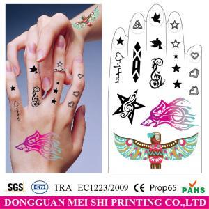 Quality Hand decoration temporary tattoo sticker body tattoos fake tattoo sticker wholesale