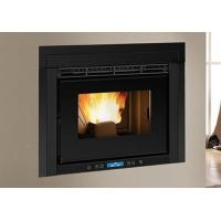 Quality Decorative Black Grilles Wood Insert Fireplace With Tri - Mode Operating System wholesale