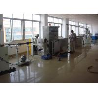 Quality Dia 40mm-100mm Cable Extruder Machine With Mainframe / Main Control Cabinet wholesale