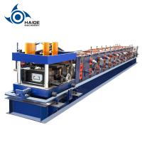 Quality Automatic Touch Screen CZ Purlin Roll Forming Machine For Galvanized Metal Steel Sheet wholesale