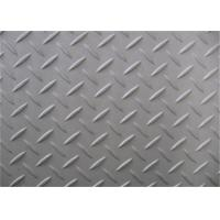 Quality Silver Surface Checkered Steel Plate, Hot Rolled Diamond Plate Flooring wholesale