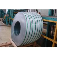 Buy cheap 201 / 304 / 410 Cold Rolled Stainless Steel Strips PE Film For Chemical Industry product