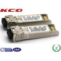 Quality 20KM 10GB Single Mode Simplex LC Connector SFP Fiber Optic Transceiver With DDM wholesale