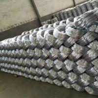 Quality Zinc coating 0.9mm 20 Gauge Hot Dip Galvanized Iron Wire for Mesh Weaving wholesale