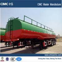Quality 3 axles fuel tanker semi trailer , 42000 liters fuel tank semi trailer wholesale