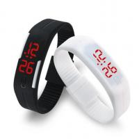 Quality Silicone Band LED Digital Watch Water Resistant CE ROHS Approved wholesale