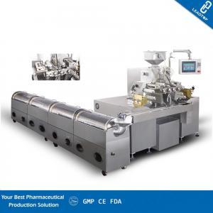 China Soft Gelatin Capsule Machine , Soft Gel Capsule Filling Machine Siemens Touch Screen on sale