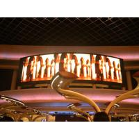 China Indoor Rubber P3 Flexible Led Screens / Round Curved Led Display Rental Show Advertising on sale