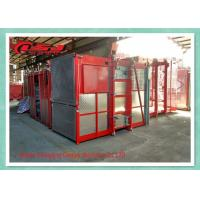 Buy cheap Vertical Safety Builders Man Material Hoisting Equipment High Efficiency product