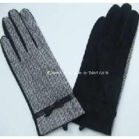 Quality 2012 Fashion Women′s Pig Suede Gloves (CF1280) wholesale