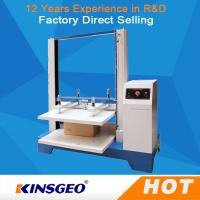 Quality 550kg Computer Package Testing Equipment , Automatic Carton Compression Tester with One Year Warranty wholesale