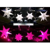 Quality Valentine Home Decor Inflatable LED Star Stage Inflatable Lighting Decoration wholesale