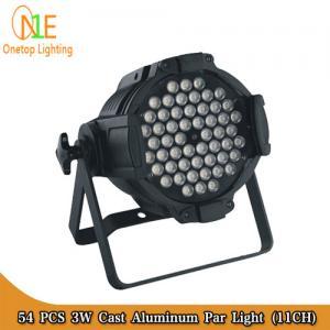 Quality High quality 54 pcs 3W Cast Aluminum Par Light Stage Light Guangzhou Stage Light Supplier wholesale
