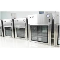 China Customized SUS304 Dynamic Cleanroom Pass Box For Pharmaceutical GMP Workshop on sale