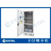 Quality Three Layers Metal Outdoor Battery Street Cabinets Telecoms With Water Sensor wholesale