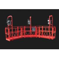 Quality Red Arc Adjustable High Working Steel Rope Suspended Platform Cardle for Construction wholesale