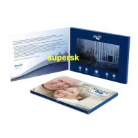 Quality Bespoke Personalized Lcd Screen Invitation Card , Lcd Marriage Invitation wholesale