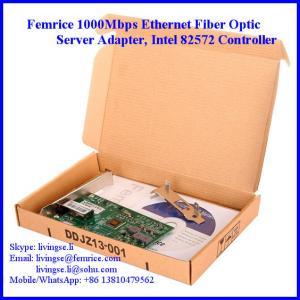 Quality Femrice 1G Ethernet Single Port PCI Express x4 Workstation Application Network Adapter wholesale