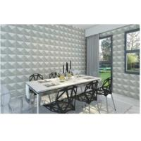 Cheap Eco Friendly Carved Living Room Modern 3D Wallpaper , 3D Wall Background for TV for sale