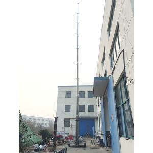 Quality 18m telecommunication antenna masts tower trailer system wholesale