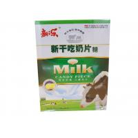 Cheap Evaporated Milk Tablet Candy Pink / Yellow Zero Calorie Cow Milk Tablets for sale