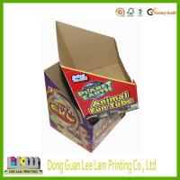 Quality high quality cosmetic display paper box with stamping logo wholesale