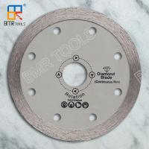 Quality BMR TOOLS 4 inch cold press continuous rim diamond saw blade for tile/ceramic/glass/granite wholesale