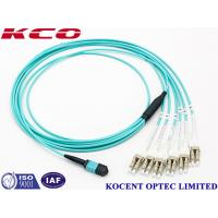 Buy cheap Switchable LC Uniboot MPO Multimode Fiber Optic Patch Cord OM1 OM2 OM3 OM4 from wholesalers