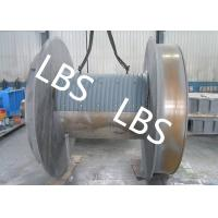 Quality Steel Q345 Q420 Smooth Winch Drum 3mm - 190mm Wire Rope Diameter wholesale