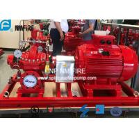 China UL Listed Fire Fighting Pump Set With Electric Motor Driven 2000GPM / 155PSI on sale