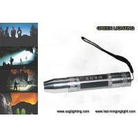 Quality GL-F016 Q5 5W Led Rechargeable Torch 350 Lumen 300 - 500 Meter Lighting Distance wholesale