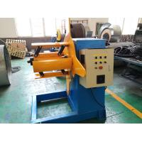 Quality 3 Ton Roll Forming Machine Parts / Hydraulic Decoiler 3KW Motor Powered wholesale