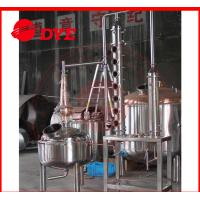 Manual Stainless Steel Industrial Alcohol Distillation Equipment
