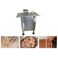 China Single Line Stainless Steel Linker Machine For Tying Sausage Semi Automatic on sale
