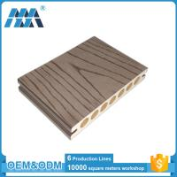 China Anti-slip Outdoor Engineered Wood plastic composite decking boards on sale