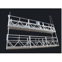 Quality Aluminum Alloy Double Deck Suspended Rope Platform And Suspended Access Equipment wholesale