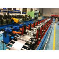 Buy cheap C Purlin Roll Forming Machine / C Section Roll Forming Equipment Servo Flying from wholesalers
