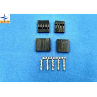 Cheap Single Row Wire to board connectors 2.54mm Pitch Female Connector Mated with Pin Header for sale