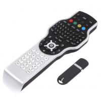 Quality wireless remote control for Google with 2.4G RF mini keyboard + jogball mouse + IR learning wholesale