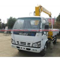 Quality ISUZU Cargo truck with Crane, Mini ISUZU Truck Mounted With Crane 3Tons,ISUZU Crane Truck factory directly sales wholesale