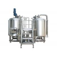Quality High Power 8 BBL Brewing System Stainless Steel With PU Foam Insulation wholesale