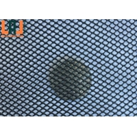 Aluminum Length 300m Micro Expanded Metal Mesh Balck Powder Coated for sale