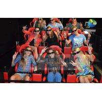 Quality Interactive 7D Cinema System With Horrible Movies / Electronics Seats wholesale