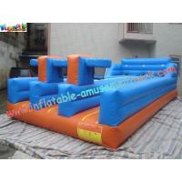 Quality PVC Inflatable Bungee Run Triple Lane,Three LaneInflatable Sports Games Bungee wholesale