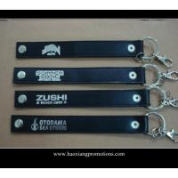 Quality High quality custom genuine leather keychain car leather key chain with gift wholesale