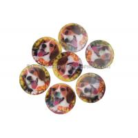 Quality PET / PP Lovely Animal Image Sticker 3d Lenticular Printing Adhesive For Kids wholesale